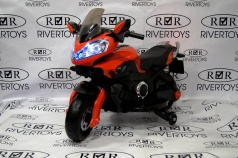 Мотоцикл RIVERTOYS MOTO E222KX красный