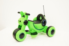 Мотоцикл RIVERTOYS МОТО HL300 зеленый